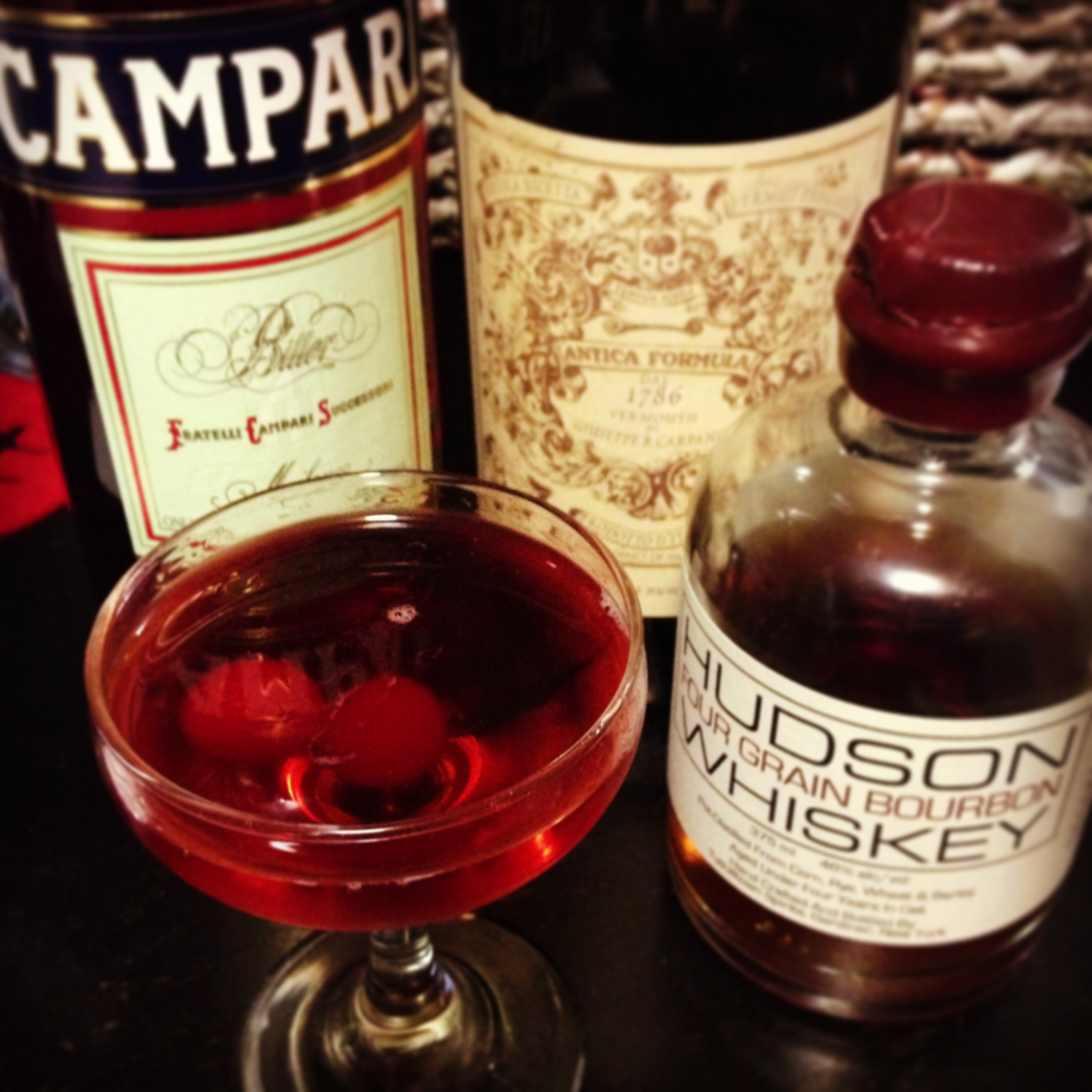 Campari And Bourbon Cocktail Recipe