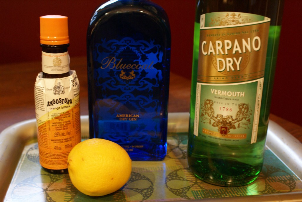 National Martini Day - Carpano Vermouth and Bluecoat Gin