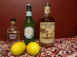 Templeton mule cocktail